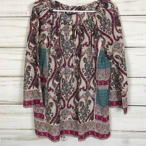 🌺🦋 Lucky brand tunic top 🛍🦋